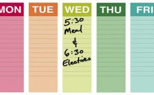 Wednesday Electives