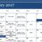 Calendar - 2017-1 January